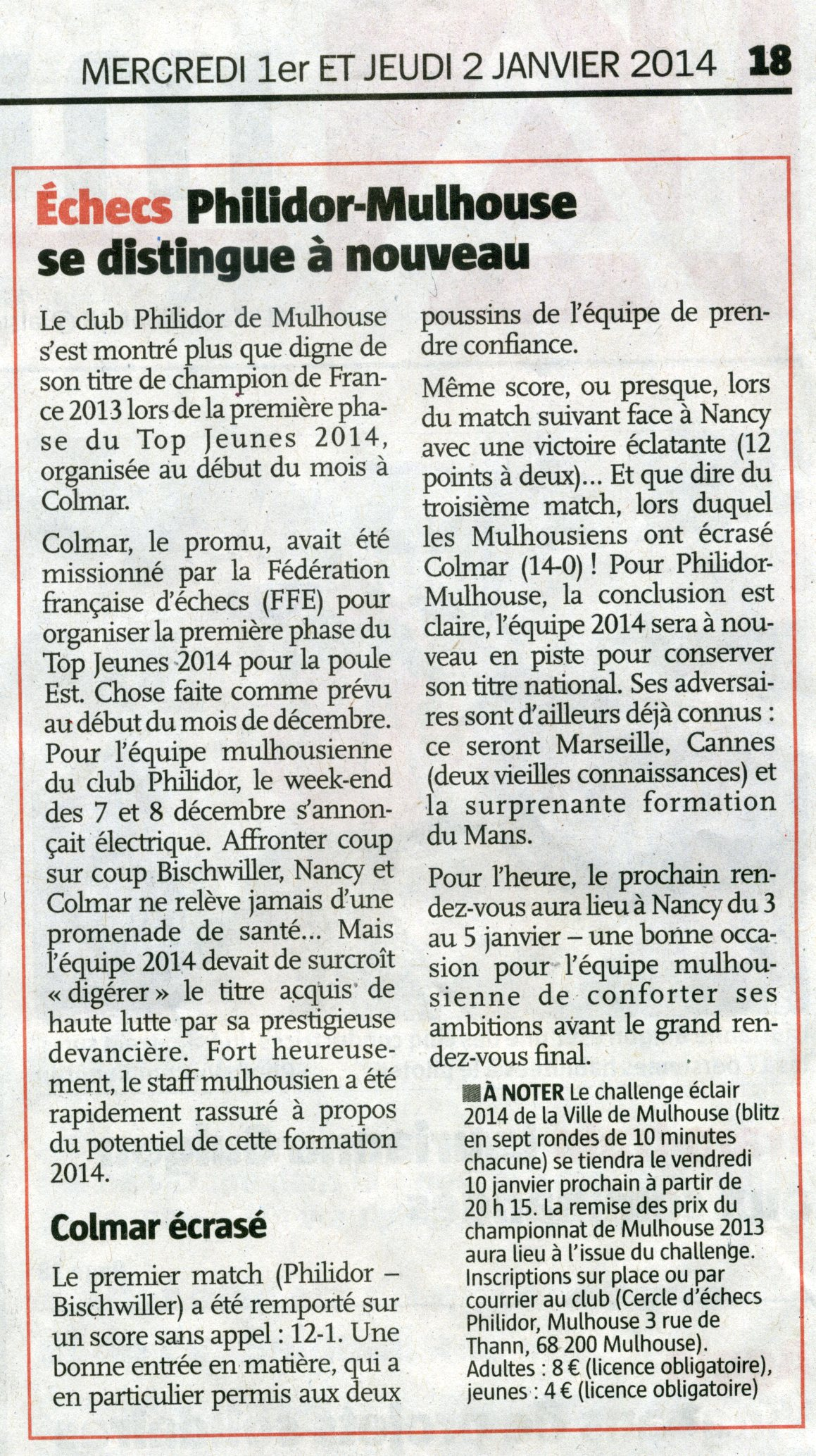 Article Philidor Top J 2014 phase 1