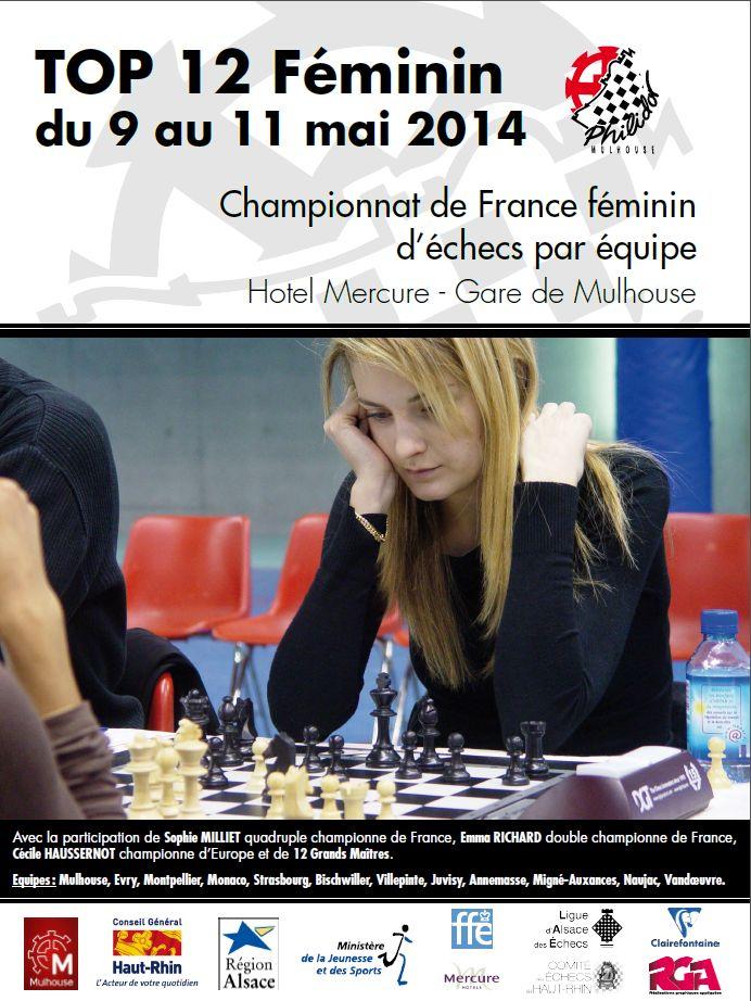 Le Top 12 Féminin à Mulhouse