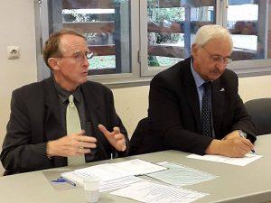 Jean-Paul Griggio et Jean-Paul Omeyer