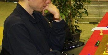 David apportera un point décisif avec les pièces noires face à Igor Nataf